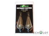 Korda Distance Casting Swivel 4.5oz., Gravel грузила 128 гр., цвет гравий