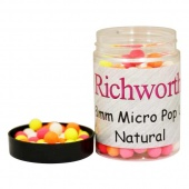Плавающие бойлы Richworth Micro Pop-Up 6-8mm Natural