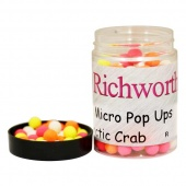 Плавающие бойлы Richworth Micro Pop-Up 6-8mm Arctic Crab (Арктический Краб)