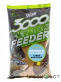 Sensas 3000 Method Feeder BREM&BIG FISH 1кг (Прикормка)