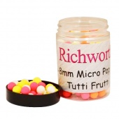 Плавающие бойлы Richworth Micro Pop-Up 6-8mm Tutti Frutti (Тутти-Фрутти)