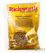 Пеллетс Richworth Multi Stim Pellets Pineapple Hawaiian 900g 8mm (Гавайский Ананас)
