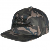 Бейсболка FOX Camo Flat Peak College Snapback