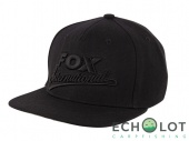 FOX International Black Snapback Cap бейсболка