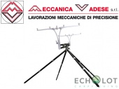 Meccanica Vadese NICK 95 EVOLUTION 4-5 rods black & steel род-под